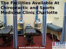 The Facilities Available At Chiropractic and Sports Medicine Clinic Charlotte | Chiropractic Care | Scoop.it