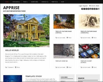 375+ Best Responsive Free WordPress Themes | Webdesign by Accesscloud Webdesigns | Scoop.it