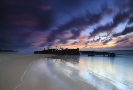 Wreckage of the SS Maheno on Fraser Island | Michael John Grist | Abandoned Houses, Cemeteries, Wrecks and Ghost Towns | Scoop.it