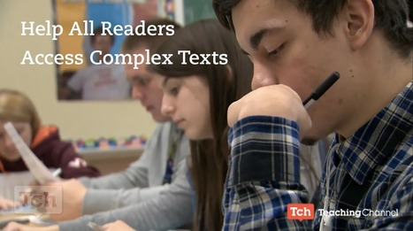 Help All Student Readers Access Complex Texts | Cool School Ideas | Scoop.it