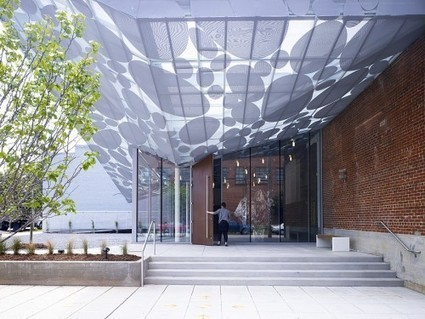 Brooks + Scarpa's Contemporary Art Museum Canopy in Raleigh | sustainable architecture | Scoop.it