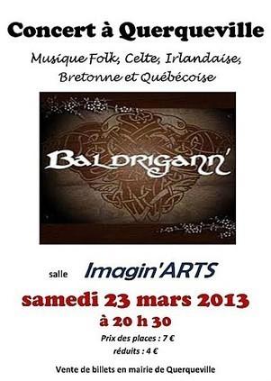 Normandie: Concert du groupe Baldrigann' a querqueville le 23 mars ! | Les news en normandie avec Cotentin-webradio | Scoop.it