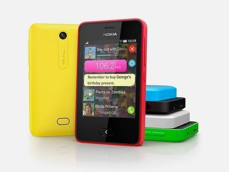 Nokia launches Asha 501 smartphone with mobile operating system | New Tech News | Scoop.it