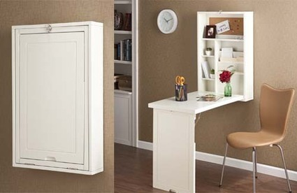 Un mueble escritorio perfecto para espacios peq - Muebles para espacios pequenos ...