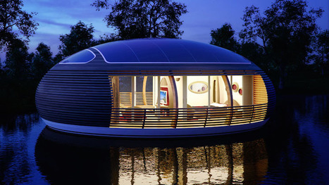 Floating solar-powered Waternest eco-home is nearly 100% recyclable | sustainable architecture | Scoop.it