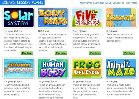 Science Games for Kids | Science Kids | Science Lessons for Kids | CLIL and ICT Resource Pool | Scoop.it