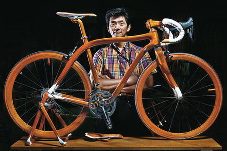 By Design | Impossibly Light, Totally Sleek Handmade Bikes Built by a Tokyo Shipwright | VIM | Scoop.it