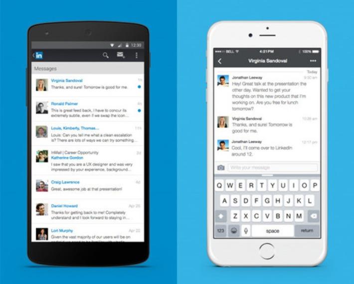 LinkedIn : refonte complète de la messagerie - Blog du Modérateur | TIC et TICE mais... en français | Scoop.it