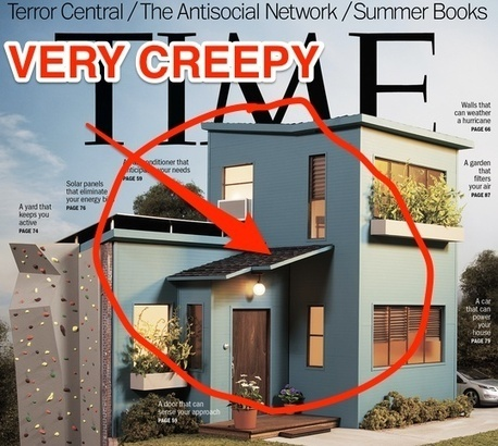 Time Magazine shows just how creepy smart homes really are | Smart Homes & Home Automation | Scoop.it