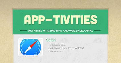 App-tivities | Flip it! | Scoop.it