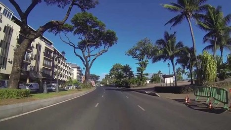 Punaauia to Papeete & Papeete to Paea [HD] (Suction Cup) | TAHITI Le Mag | Scoop.it