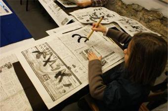 Ateliers japonais à Bercy Village pour les vacances de Printemps - Sortiraparis | Apprendre la calligraphie | Scoop.it