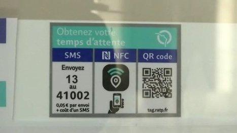 NFC, QR code... La RATP connecte ses abribus pour informer ses clients | QRiousCODE | Scoop.it