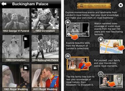 IL Y A 4 ANS...Une application mobile pour visiter Londres et explorer l'histoire de la monarchie anglaise | Clic France | Scoop.it