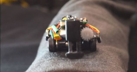 Tiny body-roaming robots could be the future of wearables | Heron | Scoop.it
