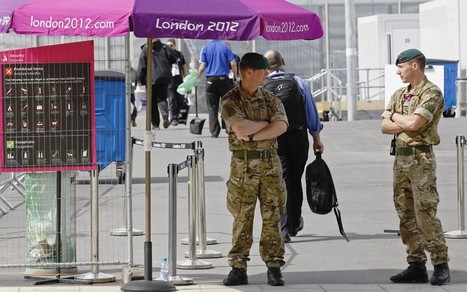 Olympics: 'I don't know if guards speak English', says G4S chief - Telegraph | The Indigenous Uprising of the British Isles | Scoop.it