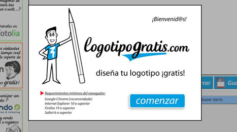 8 Paginas Web para crear logos gratis | De Zapping por las TIC | Scoop.it