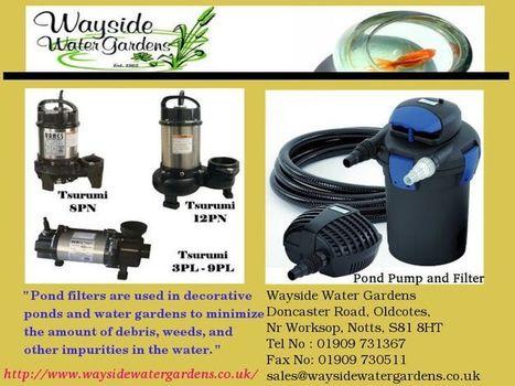 Pond Filters | watergardens | Scoop.it