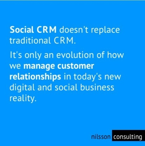 How Brands Must Evolve from CRM to Social CRM - Brandwatch | Traditional CRM vs. Social CRM | Scoop.it