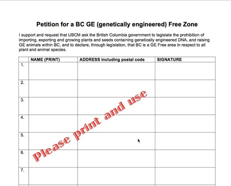 GE Free BC Petition.pdf - Google Drive | ecology | Scoop.it