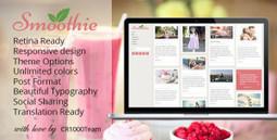 Free Smoothie - Retina Responsive Blog WordPress Theme | Wordpress Themes | Scoop.it