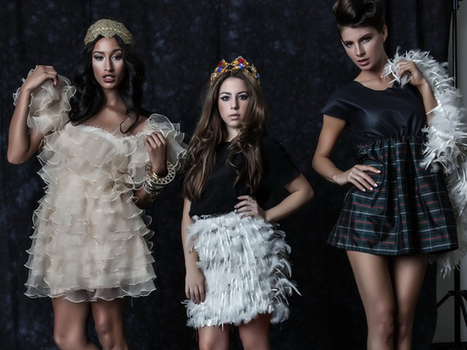 At just 14, Latina fashion designer Cecilia Cassini knows what women want to ... - NBC Latino | sewing | Scoop.it