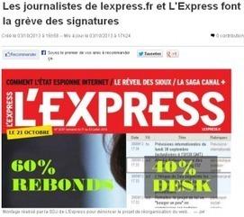 L'Express: grève des signatures sur le site   DocPresseESJ   Scoop.it