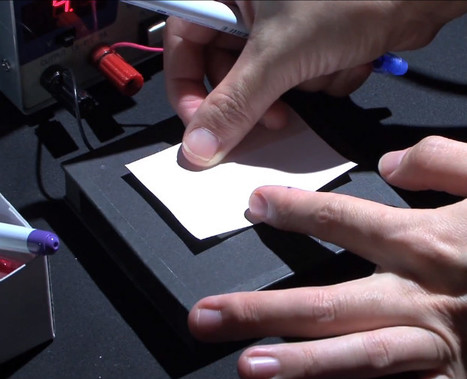 Paper Turned Into Interactive Computer Display : Discovery News | TeMa.Com | Scoop.it