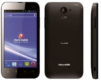 Cherry Mobile Flare Price, Specs, Features - 1.2GHz Dual-core processor at Php3,999! | NoypiGeeks | Reviews | Philippines | Gadget Reviews | Scoop.it