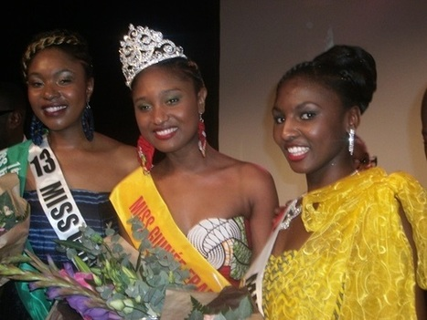 Ousmane Barry, élue Miss Guinée France 2014 | CULTURE GUINEE | Scoop.it