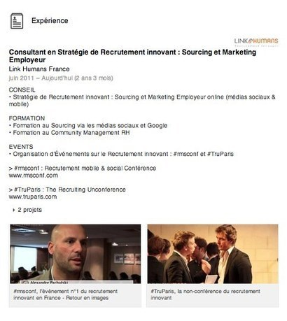 Votre profil Viadeo/Linkedin est votre CV matrice ! I Jean-Christophe Anna | Entretiens Professionnels | Scoop.it