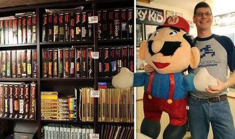 Man with world's largest video game collection worth £500000 puts it all up ... - Express.co.uk | Video Games | Scoop.it