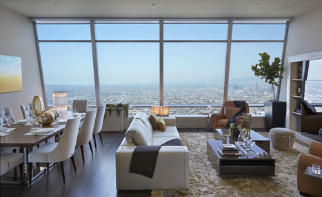 Striking Penthouse on the 50th Floor of The Ritz-Carlton Residences in L.A. | Virtual Administrator | Scoop.it