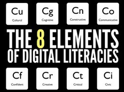 The 8 Key Elements Of Digital Literacy - Edudemic | Design in Education | Scoop.it