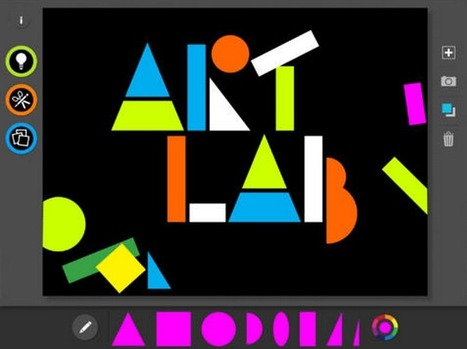Excellent iPad Apps for Arts Teachers ~ Educational Technology and Mobile Learning | Education technology | Scoop.it