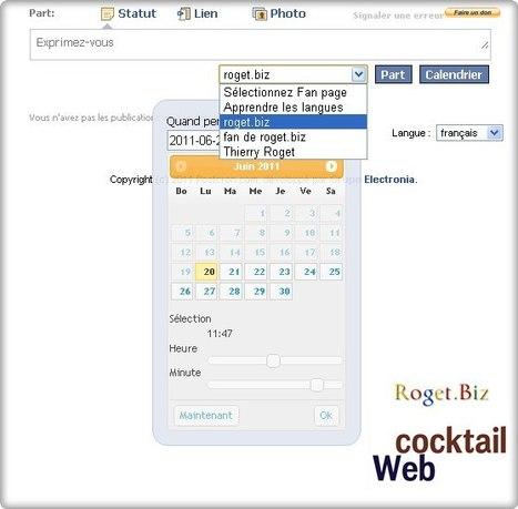 Programmation d'envoi de message facebook | Ce qui m'intéresse | Scoop.it