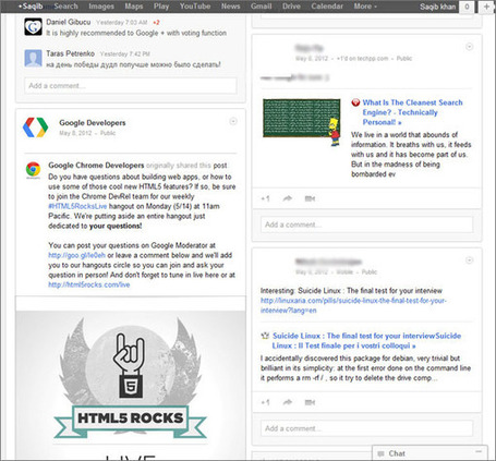 Get Rid of Google+ White Spaces with a Pinterest Style Layout | Google+ Marketing Essentials | Scoop.it