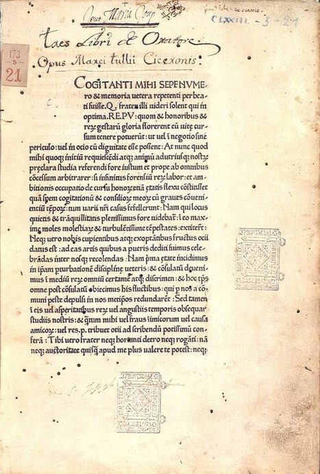 The first book printed in Italy | Inspiring Typography | Scoop.it