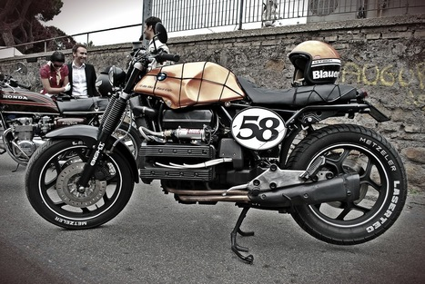 "Inazuma café racer: K100 by ""Nude"" 
