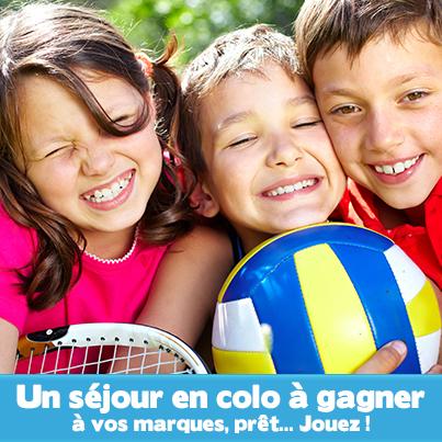 Gagnes ta colo ! A vos marques, prêt... jouez! | Vacances Enfants Ados | Scoop.it