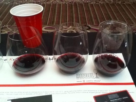 SoBeWFF: Does The Wine Glass Matter? Max Riedel Says Yes | Vitabella Wine Daily Gossip | Scoop.it
