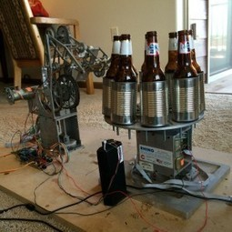 Arduino Powered Beer Bottle Opener - Makerflux | Arduino, Netduino, Rasperry Pi! | Scoop.it