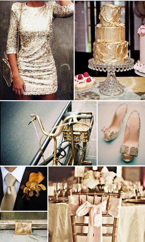 Lake Tahoe Wedding Inspiration   Glitter & Gold   Lake Tahoe Weddings with Tahoe Unveiled   Wedding   Scoop.it