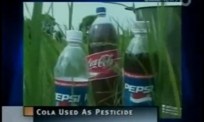 Coke and Pepsi Being Used as Pesticides in India | Vending Machines | Scoop.it