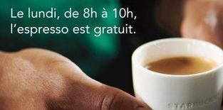 Le Lundi Matin, Starbucks vous paie le Café ! | agro-media.fr | actualité agroalimentaire | Scoop.it