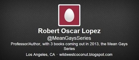 Robert Oscar Lopez Is Self-Publishing A Bizarre Series Of Gay Fiction Books | Daily Crew | Scoop.it