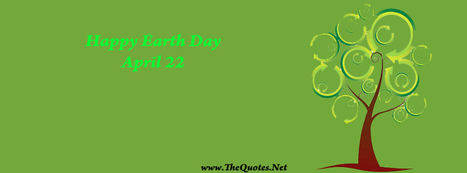 Facebook Cover Image - Earth Day Wishes - TheQuotes.Net | Facebook Cover Photos | Scoop.it