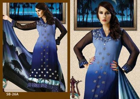 Women Chiffon Lawn Collection by Strawberry   fashion   Scoop.it