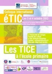 Colloque international éTIC | Education & Technology | Scoop.it