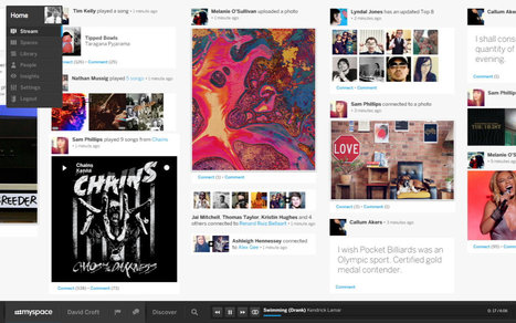 Welcome to the new Myspace! | PSD Conversion Services | Scoop.it